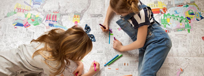 Zábavné omalovánky pre deti | Coloreo